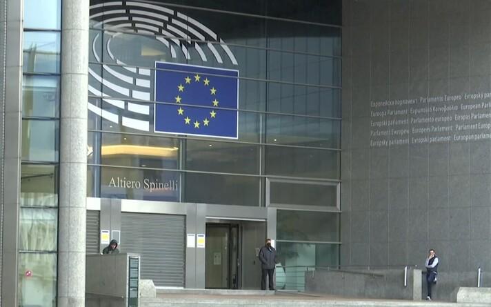 Здание Европарламента.