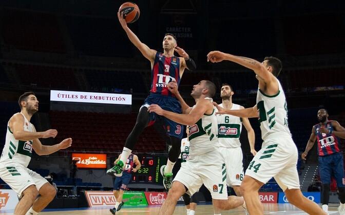 Luca Vildoza oli Baskonia üks resultatiivseim mängija