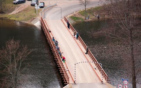 Säilmed leiti Dubingiai silla taastustööde käigus.