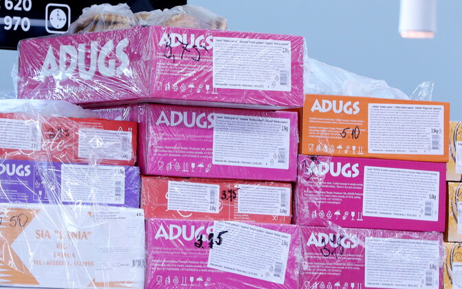 По данным латвийского новостного агентства, людей эксплуатировали на предприятии Adugs.