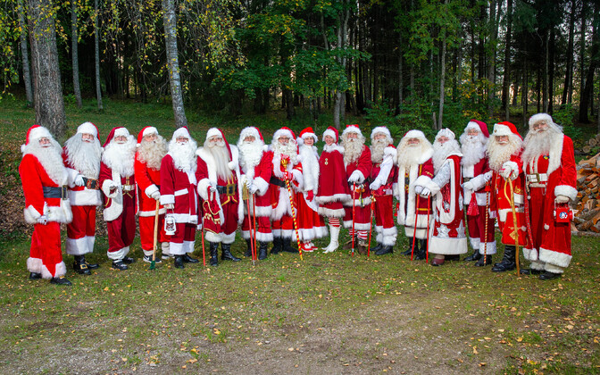 10th anniversary of the Estonian Santa Claus Society.