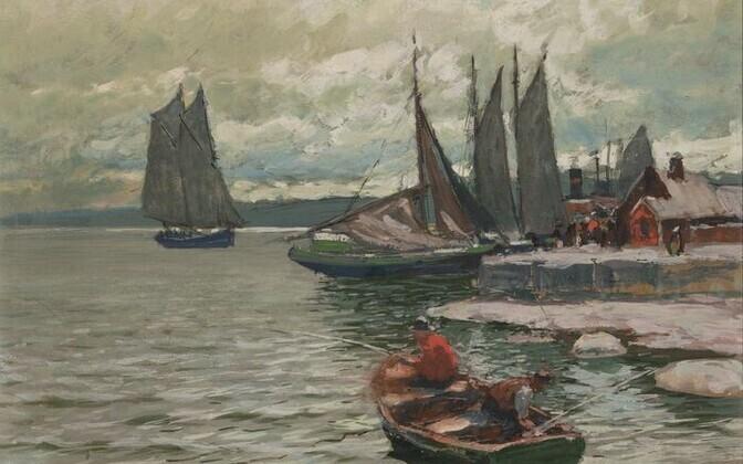 Андрей Егоров (1878 ̶ 1954).