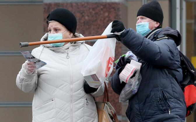 По состоянию на 23 ноября 2020 в Санкт-Петербурге зафиксировано 100 864 подтвержденных случая заражения коронавирусом. Иллюстративная фотография.
