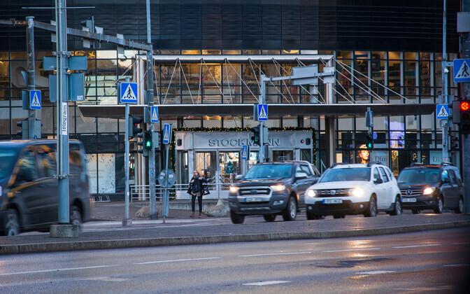 Здание универмага Stockmann в Таллинне.