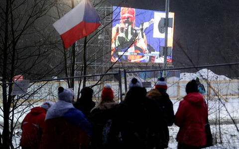 Kevadel pidid fännid Nove Mesto võistlusi aia tagant vaatama.