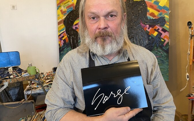 Kunstnik Margus Tiitsmaa ehk Sorge pani oma parimad maalid ja assamblaažid kunstikataloogi