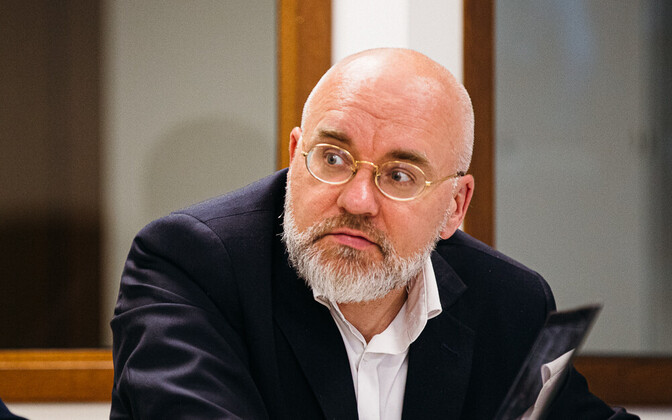 ERR Board Chair Erik Roose.