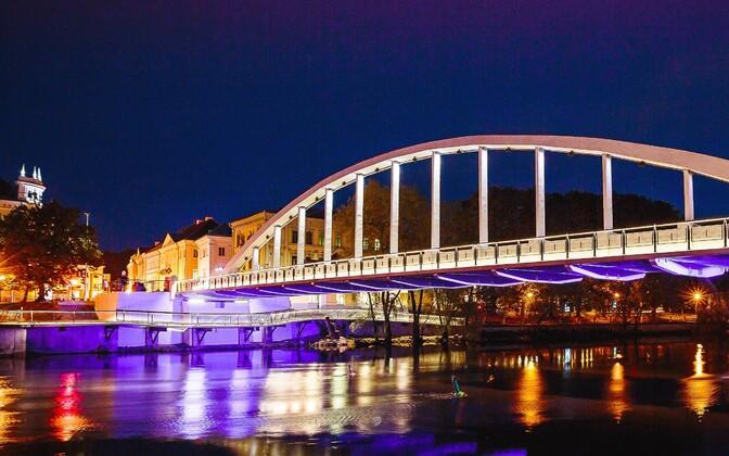 The arch of Tartu's kaarsild bridge will be
