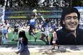 Diego Maradonale pühendatud tänavakunst Buenos Aireses