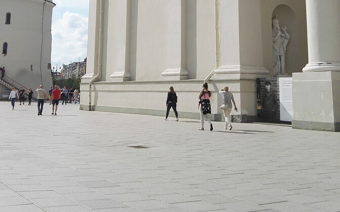 Center city of Vilnius.