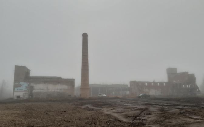 Территорию бывшего шинного завода очистили от многолетнего загрязнения.