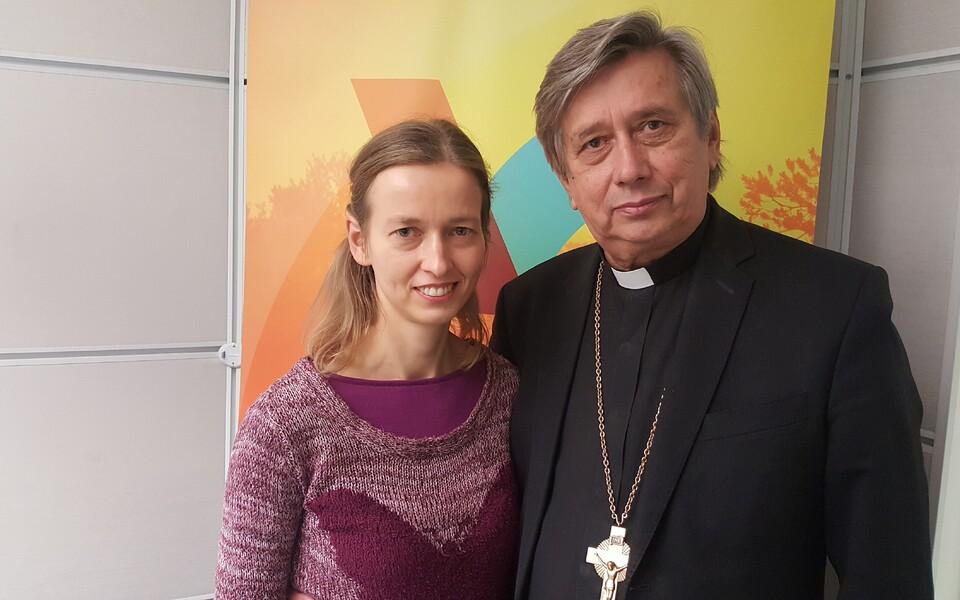 Katrin Burman ja Joel Luhamets