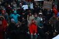 Maskide vastane meeleavaldus.