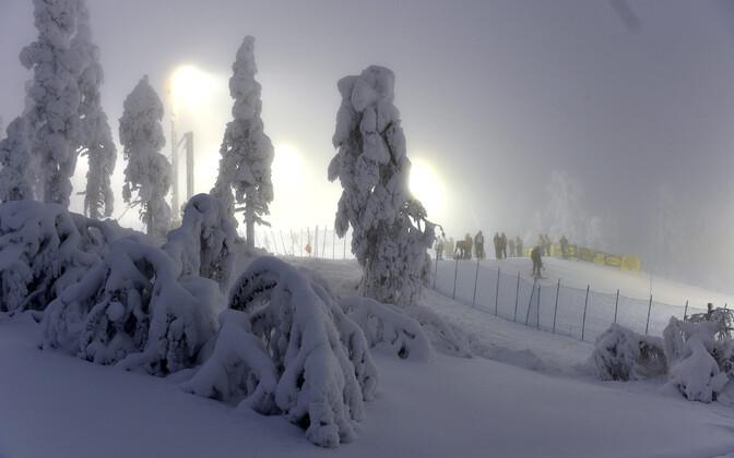 Suusakuurort Soomes.