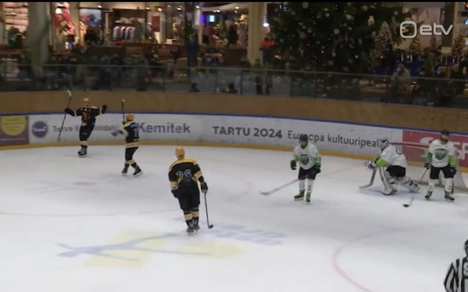 Tartu Välk 494 alustas Balti jäähokiliigat võidukalt