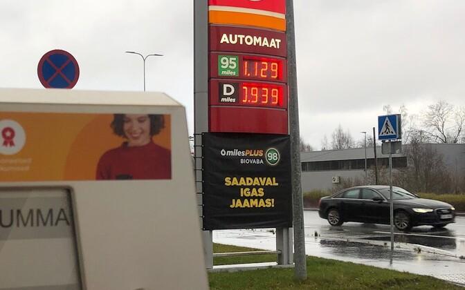 Langetatud kütusehinnad