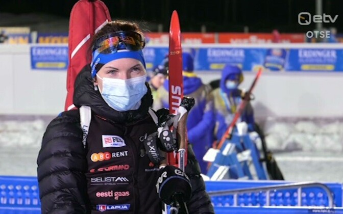 Туули Томингас заняла 26-е место в гонке на 15.