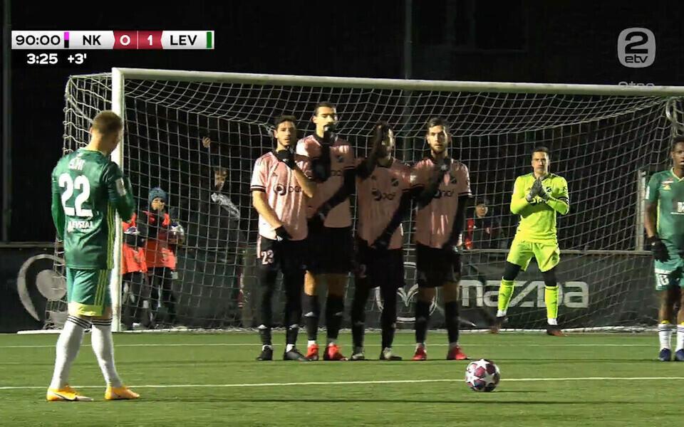FCI Levadia lõi Nõmme Kaljule kaks väravat.