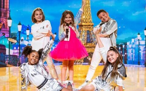 Prantsusmaa esindaja Valentina Laste Eurovisioonil