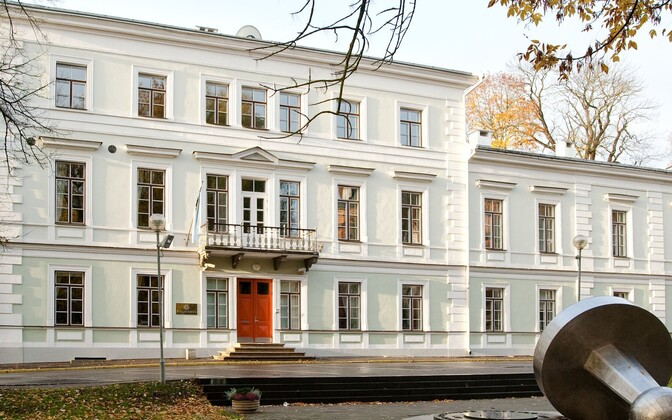 Supreme Court building in Tartu.