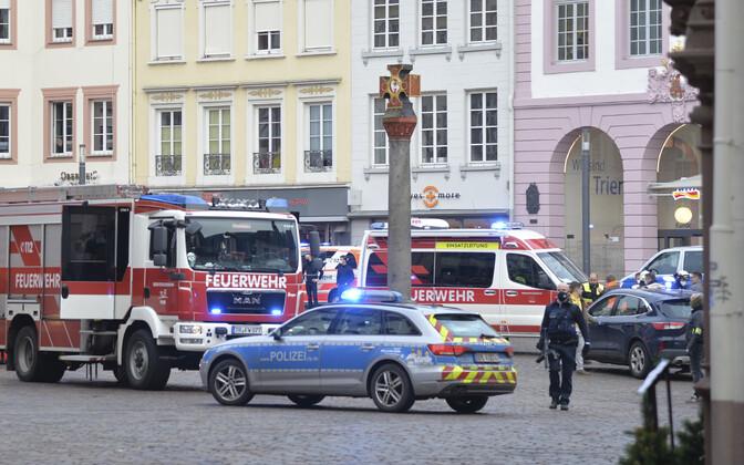 В Триере погибли и пострадали пешеходы.