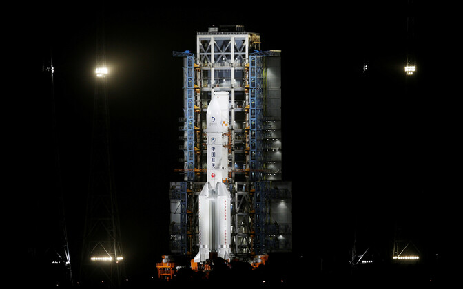 Sond Chang'e-5 kandev rakett Long March-5 Y5.