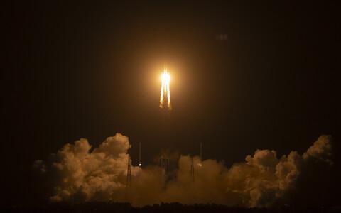 Chang'e 5 startis Wenchangi kosmodroomilt raketiga ilmaruumi 23 novembril.