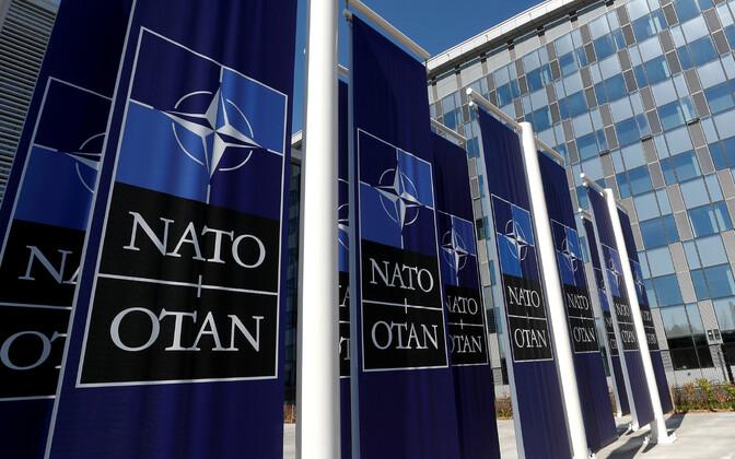 Palaktid NATO peakorteri juures.
