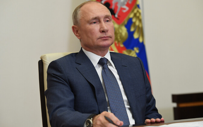 Vene president Vladimir Putin.