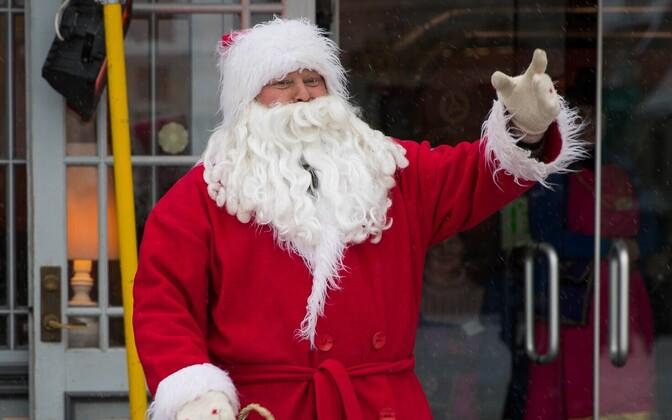 Дед Мороз. Иллюстративная фотография.