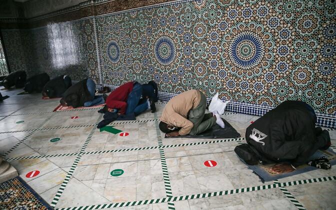 Мечеть в Париже.