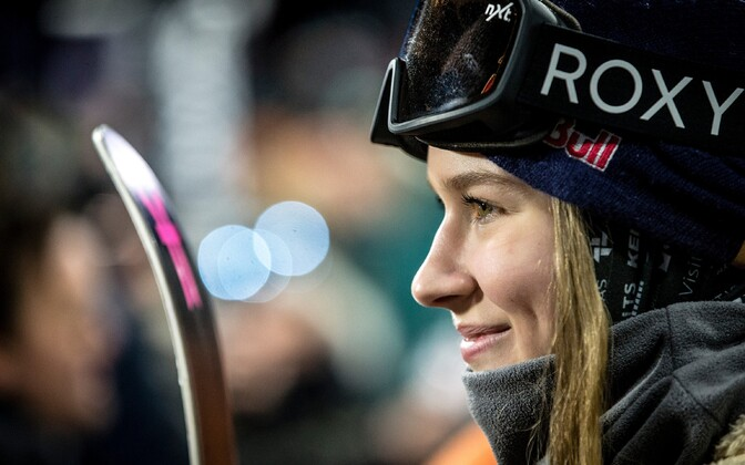 Freestyle suusatamise rennisõidu valitsev maailmameister Kelly Sildaru