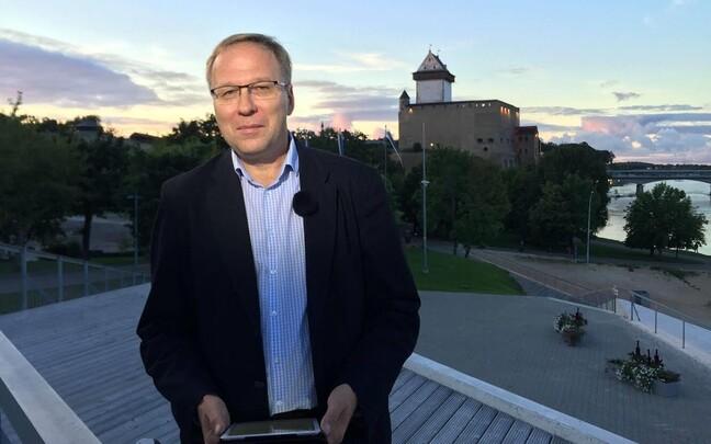Корреспондент ERR Сергей Степанов.