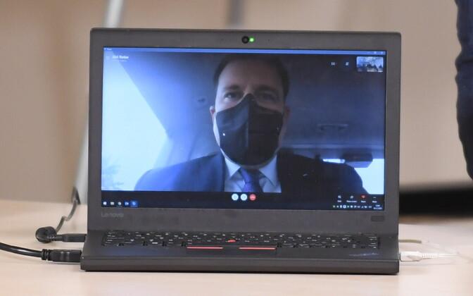 Prime Minister Jüri Ratas already started working remotely, via internet link, on Friday.