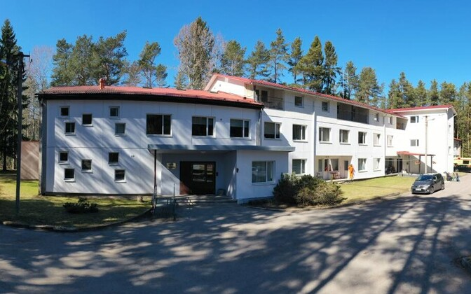 Loksa care home, scene of the recent outbreak of COVID-19 among the majority of its residents.