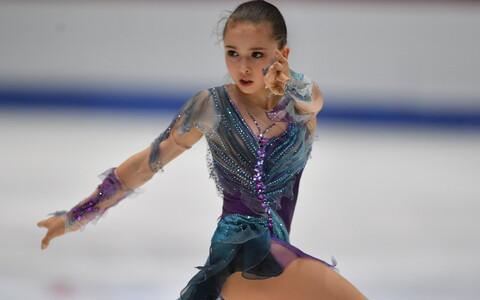 Kamilla Valijeva juunioride MM-il Tallinnas.