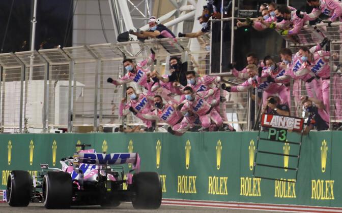 Sergio Perez võitis Sakhiris karjääri esimese GP