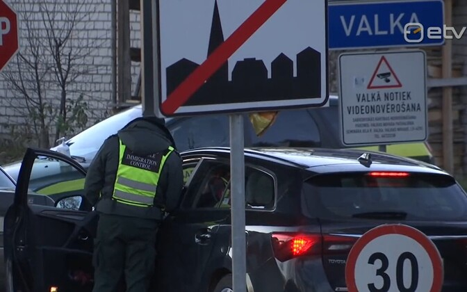 Латвия усилила контроль на границе.