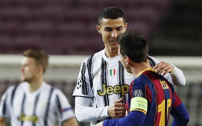 Cristiano Ronaldo ja Lionel Messi