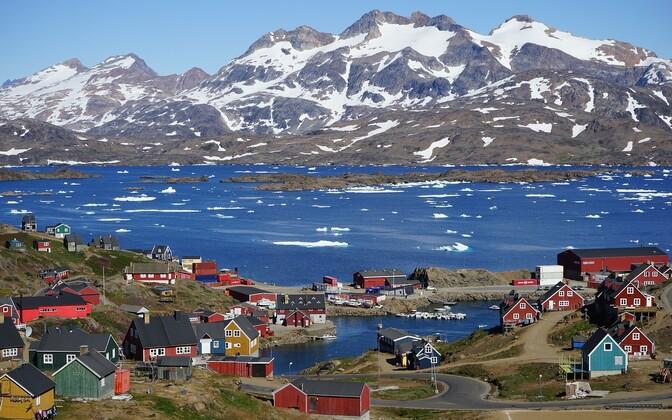 Гренландия. Иллюстративная фотография.
