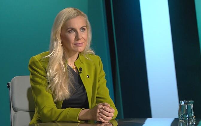 Euroopa Komisjoni enereetikavolinik Kadri Simson.