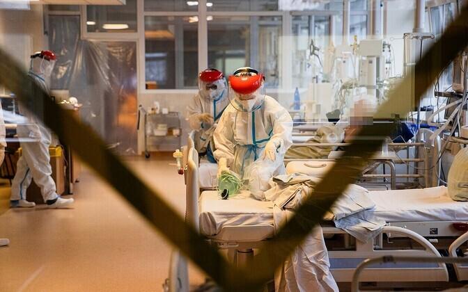 Палата для пациентов с коронавирусом. Иллюстративная фотография.