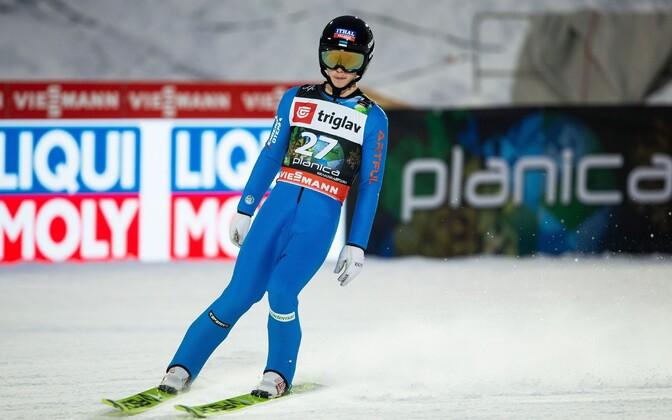 Artti Aigro lennumäe MM-il Sloveenias
