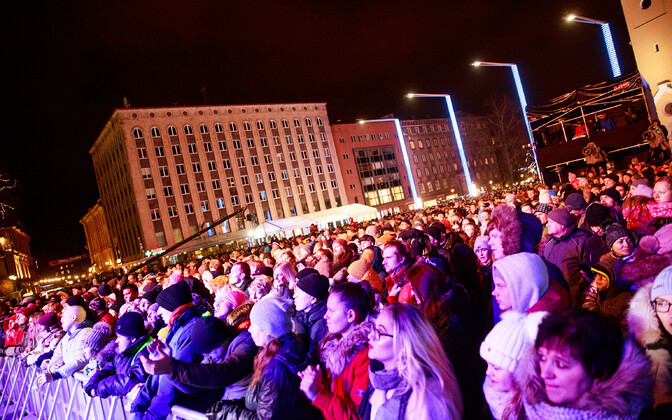 Tallinn's New Year's Eve concert.