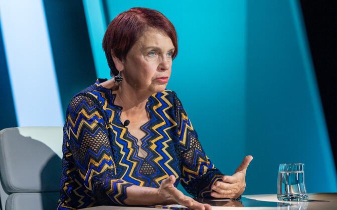 Professor Irja Lutsar.