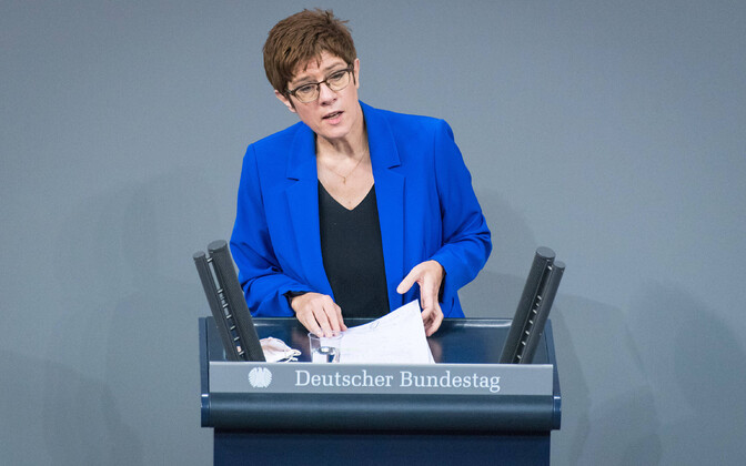 CDU pragune esimees Annegret Kramp-Karrenbauer