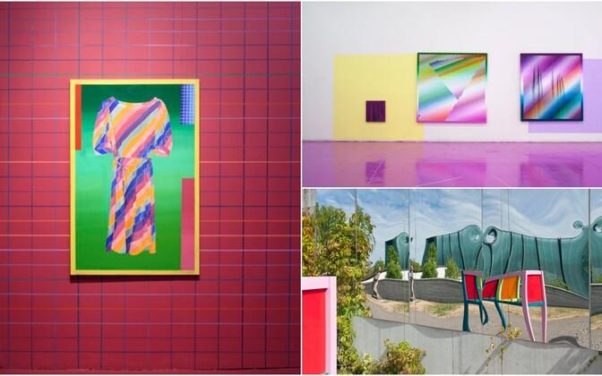 Основная тема работ Кристи Конги - жизнь цвета, а через нее - попытка уловить и запечатлеть наш постоянно меняющийся мир, сущность вещей и бытия как такового.