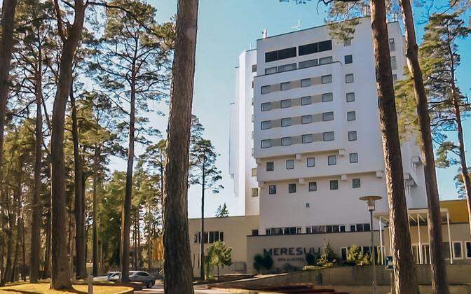 Meresuu Spa ja hotell Narva-Jõesuus.