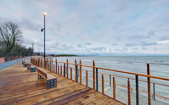 Sillamäe rannapromenaad avatakse ametlikult kevadel.