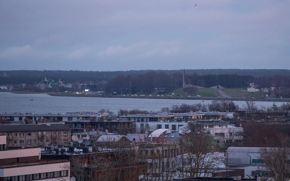Pilvine hommik Tallinnas.